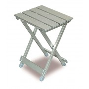 BRUNNER Twisty - Taburete plegable de aluminio para camping