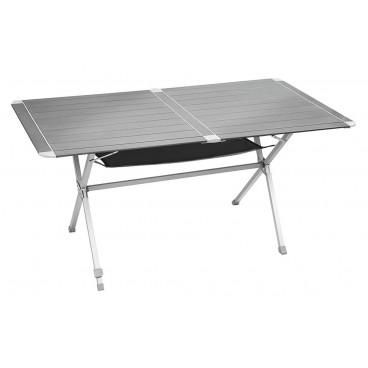 Brunner mercury gapless 6 mesa camping plegable de aluminio for Mesa de camping plegable de aluminio