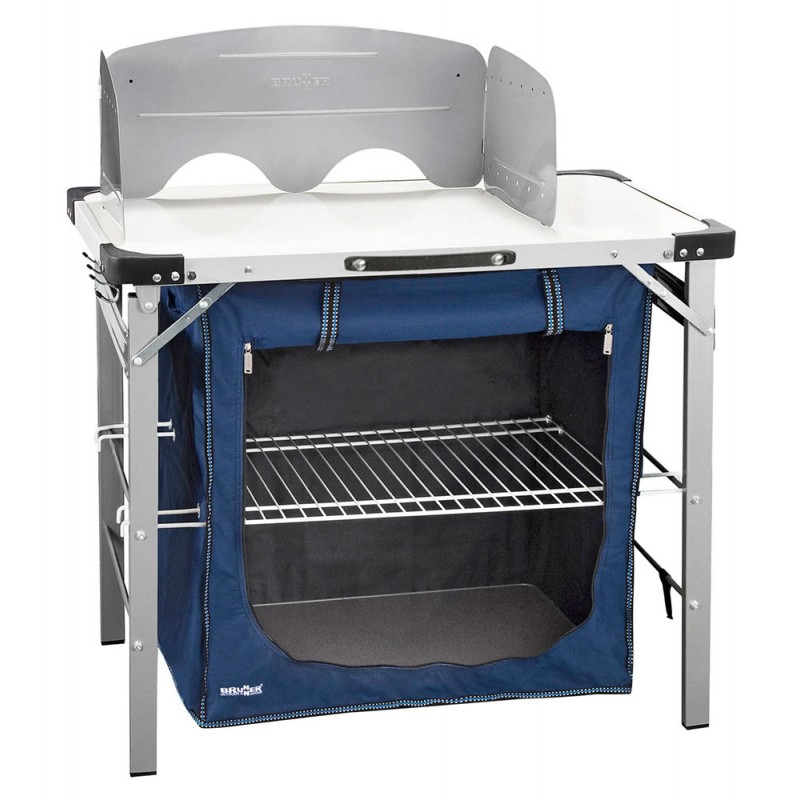 BRUNNER Chuck Box - Folding camping kitchen cabinet