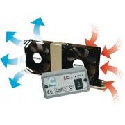 BRUNNER Vento Electronic - Doble ventilador 12V para neveras