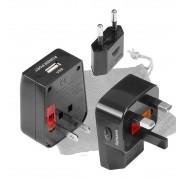 BRUNNER ConCube 150 - Adaptador universal de corriente