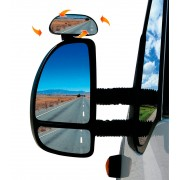 BRUNNER Optilus - Espejo retrovisor suplementario para coches, furgonetas y autocaravanas