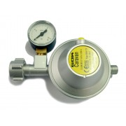 Regulator with pressure gauge 30 mbar