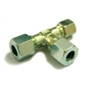 Conector de gas 'T' Ermeto 10x8x10 mm