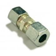 Straight Coupling 10mm for gas Ermeto