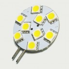 Lámpara LED G4 9 SMD 1.1W
