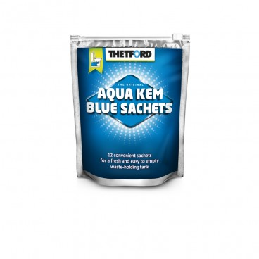 THETFORD Aqua Kem Sachets - Bolsitas solubles para el depósito del inodoro