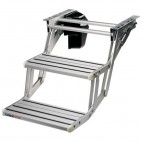 THULE Double Step 12V - Escalón doble 12V Aluminio